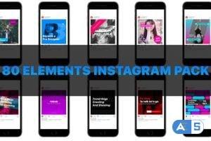 Videohive Instagram smm pack 22699569