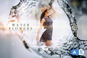 Videohive Water Flower Slideshow 22455754