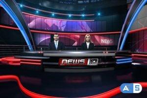Videohive News Virtual Studio Set 20462310