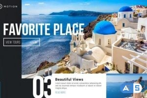 Favorite Place – Travel Holiday Promotion  Video Template AEP 1647870