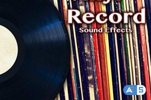 Hot Ideas Vinyl Record Sound Effects (The Hollywood Edge Sound Effects Library) WAV