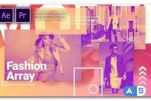 Videohive Fashion Array 25854825