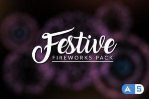 Videohive FESTIVE – Fireworks Pack 21153545