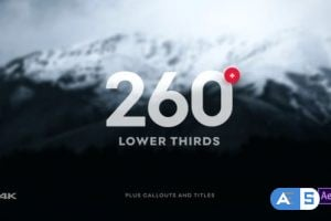 Videohive Clean Lower Third 10338608