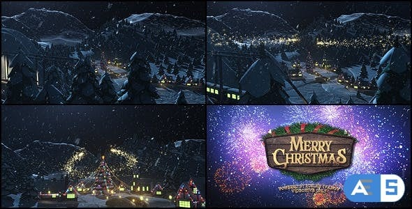 Videohive Merry Christmas 6324585