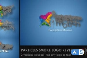 Videohive Particles Smoke Logo Reveal 5652694