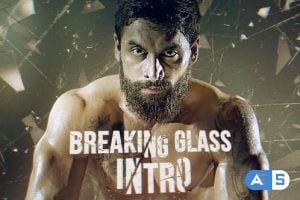 Videohive Breaking Glass Intro 24096735