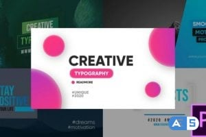 Videohive Creative Typography – Premiere Pro 26180976