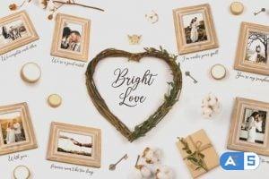 Videohive Bright Love 25745619