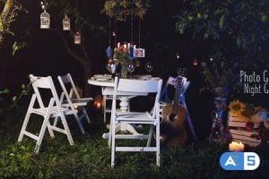 Videohive Photo Gallery – Night Garden 17312133