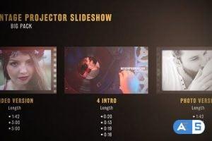 Videohive Vintage Projector Slideshow Big Pack 20069857