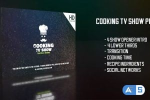 Videohive Cooking Tv Show Pack 21359758