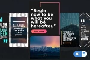 Videohive Instagram Quotes Stories 26131528