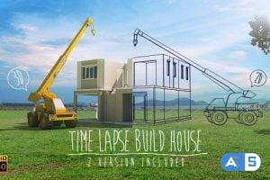 Videohive Time Lapse Build House 5056937
