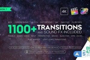 Videohive Transitions and Sound FX + Bonus V7 21589524