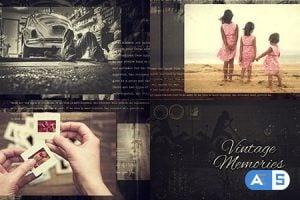 Videohive Vintage Memories 8377599