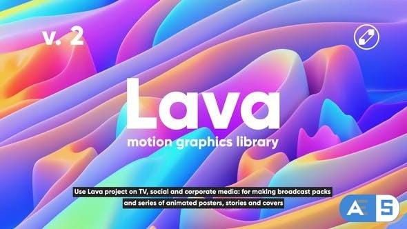 Videohive Lava   Social Media Pack – V2  24118486