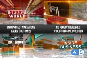 Videohive Corporate Business & Sports Show Intro 11924589