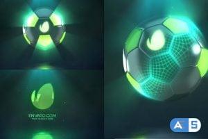Videohive Hi-Tech Soccer | Logo Reveal 25691421
