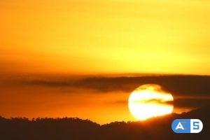 Videohive Rising Sun Close-up 2061711