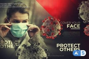 Videohive Covid-19 Safety Cinematic Title 26116419