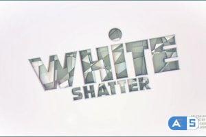 Videohive White Shatter Logo 26141371