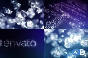 Videohive Diamonds Logo Reveal 15265288