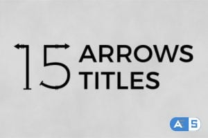 Videohive Arrows Titles 19926816