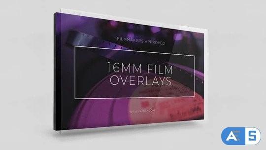 Vamify 16 mm Film Overlays
