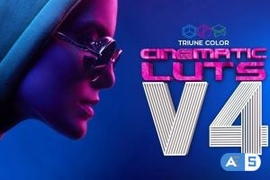 Cinematic LUTs V4 – Triune Digital