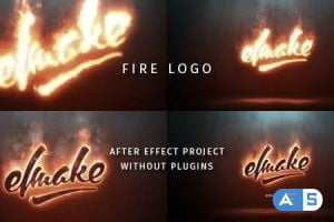 Videohive Fire Logo 19209644