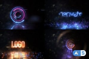 Videohive High Speed Spinning Energy Logo 25845184