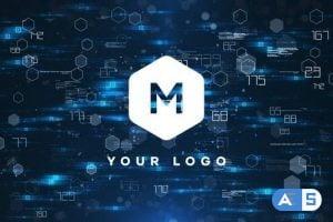 Videohive Tech Logo Reveal 25975900