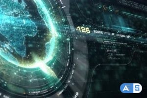 Videohive Futuristic Holographic Earth Head Up Display 23667749
