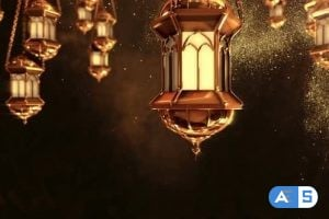 Videohive Ramadan Lantern Background Loop 2 25847138