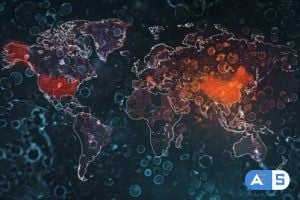 Videohive Global Mapping Coronavirus Pandemic 4K 26130874