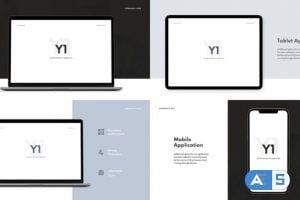Videohive Y1 – Website Promo 25890025
