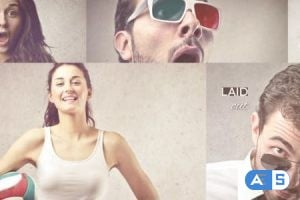 Videohive Laid Out Photo Slideshow 6044813