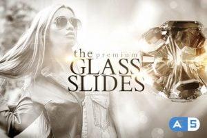 Videohive Glass Slides 21619063