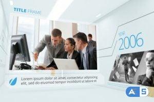 Videohive Corporate Timeline Slideshow 8524085
