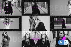 Videohive Short Modern Fashion Promo Opener 25954236