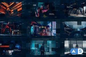 Videohive Sci-Fi Digital Slideshow 25888427