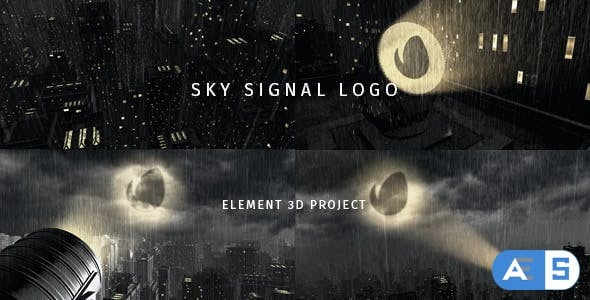 Videohive Sky Signal Logo 18870835