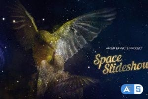 Videohive Space Slideshow 21612526