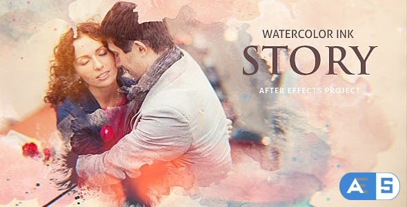 Videohive Watercolor Ink Story 20375614