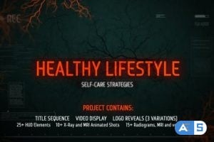 Videohive X-Ray and Veins Medical Package 9350365