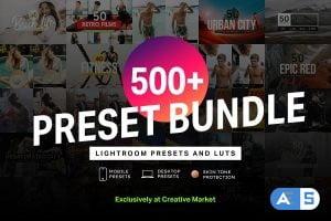 500+ LIGHTROOM PRESETS & LUTS BUNDLE