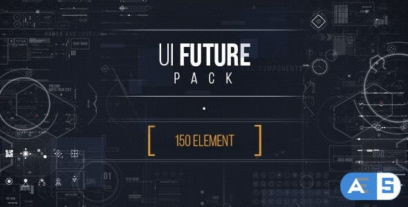 Videohive UI FUTURE PACK Footage Pack/ Ultimate Interface Screens/ Icons/ Target/ Grid/ Sci-fi and Technology 17465573