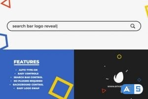 Videohive Search Bar Logo Reveal 25015508