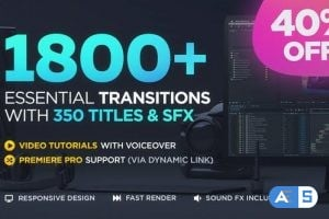 Videohive Transitions V2 ( Last Update 22 February 20 ) 20139771